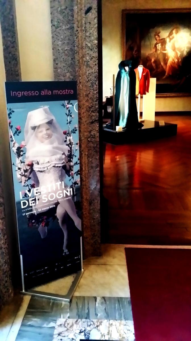 Mostra – I vestiti dei sogni – La scuola dei costumisti italiani per il cinema-  (Foto di Fiumarella)