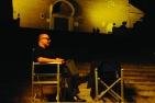 """Carlo verdone sul set del film di Paolo Sorrentino, """"La grande bellezza"""" (foto di Gianni Fiorito)"""