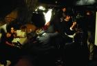 """Toni Servillo e Sabrina Ferilli sul set del film di Paolo Sorrentino, """"La grande bellezza"""" (foto di Gianni Fiorito)"""