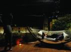 """Toni Servillo e Serena Grandi sul set del film di Paolo Sorrentino, """"La grande bellezza"""" (foto di Gianni Fiorito)"""