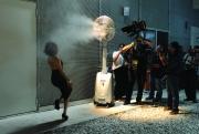 """Le riprese di una scena del film di Paolo Sorrentino, """"La grande bellezza"""" (foto di Gianni Fiorito)"""