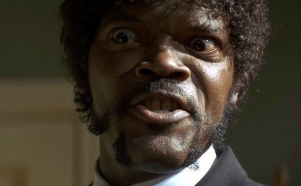 Samuel L. Jackson (Pulp Fiction)-Francesco Fiumarella