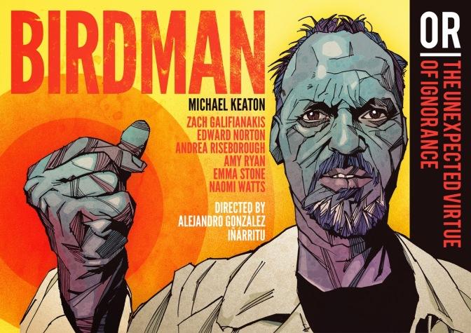 BIRDMAN – Michael Keaton – Francesco Fiumarella – 2015
