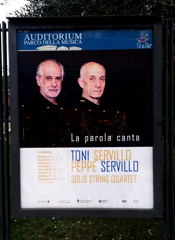 Emozione – Toni e Peppe Servillo