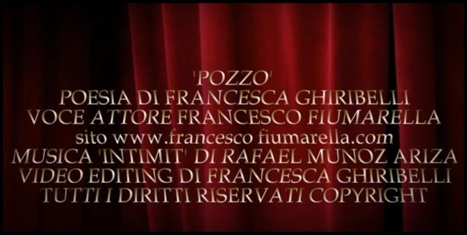 """""""POZZO""""- POESIA DI F. Ghiribelli – Voce – F.Fiumarella"""