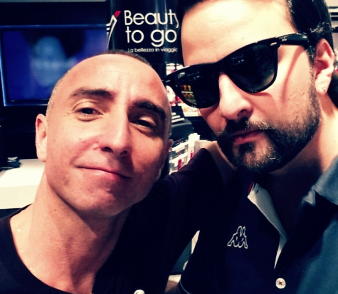Giuliano Peparini e Francesco Fiumarella