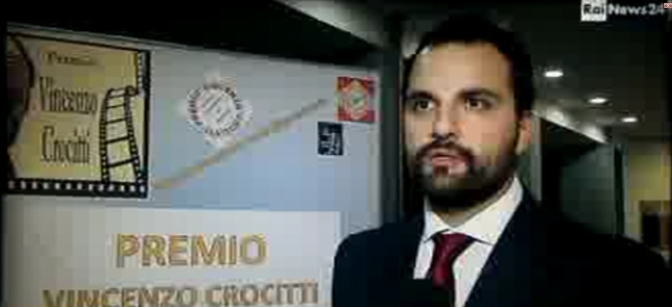 Servizio – RAI NEWS 24 – Premio Vincenzo Crocitti 2016