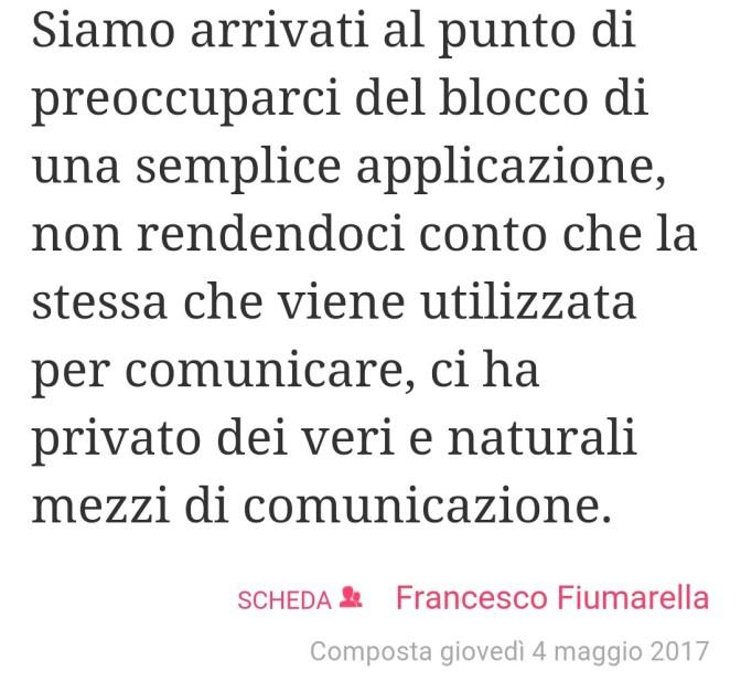 La comunicazione – Francesco Fiumarella