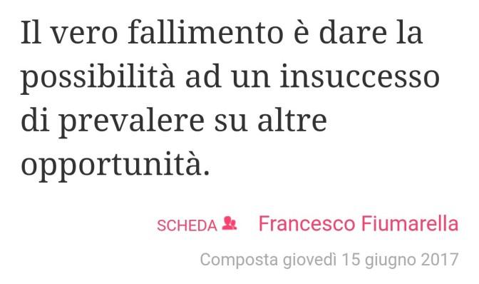 Fai prevalere le Opportunità – Francesco Fiumarella