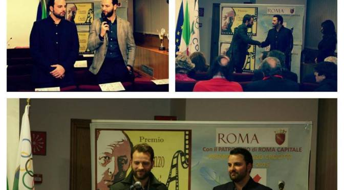 Alessandro Borghi e Francesco Fiumarella – Estratto Intervista esclusiva – Premio Vincenzo Crocitti 2015