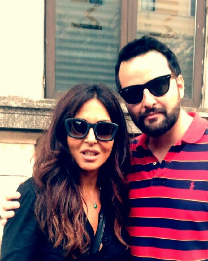 Sabrina Ferilli e Francesco Fiumarella –