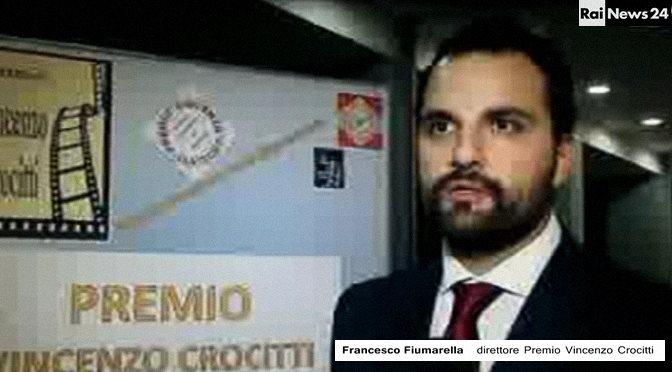 Servizio Rai news 24 – Intervista all'autore e promotore del Premio Vincenzo Crocitti ( Francesco Fiumarella)