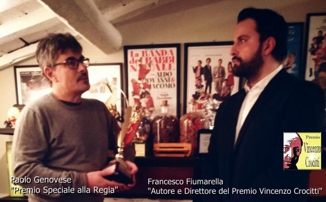 """Paolo Genovese – Premio Vincenzo Crocitti – """"Premio Speciale alla Regia"""""""